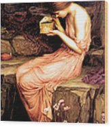 Psyche Opening The Golden Box 1903 Wood Print