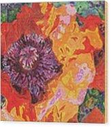Psychedelia Wood Print
