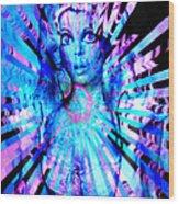 Psychedelic Barbie Wood Print