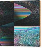 Psychedelic II Wood Print
