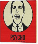 Psycho Poster 1 Wood Print