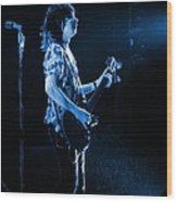 Pt78 #2 In Blue Wood Print