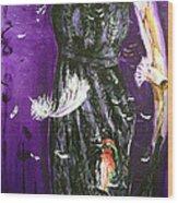 Ptaci Wood Print