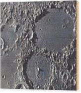 Ptolemaeus And Alphonsus Craters Wood Print