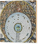 Ptolemaic Universe, 1493 Wood Print