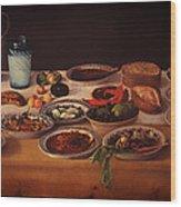 Puebla Kitchen Wood Print