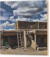 Pueblo 1 Wood Print