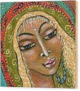 Pueblo Priestess Wood Print