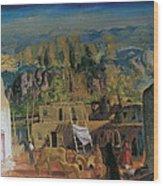 Pueblo Tesuque Number One Wood Print
