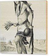 Pueblo Zuni Buffalo Dance, 1850s Wood Print