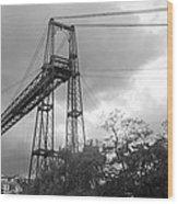 Puente Colgante Wood Print