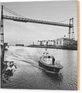 Puente Colgante V Wood Print