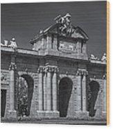 Puerta De Alcala Wood Print
