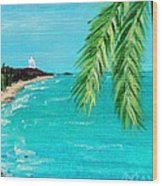 Puerto Plata Beach  Wood Print