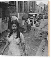 Puerto Rico Slum, 1942 Wood Print