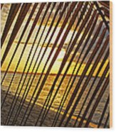 Puerto Rico Sunset 2 Wood Print