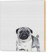 Pug 1 Wood Print