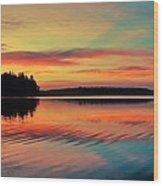 Puget Palette Wood Print