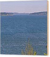 Puget Sound Panoramic Wood Print
