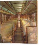 Pullman Porter Train Car Wood Print