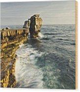 Pulpit Rock In Dorset Wood Print