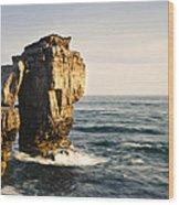 Pulpit Rock Jurassic Coast Wood Print