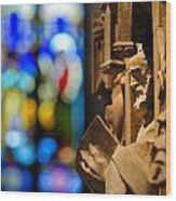 Pulpit Trinity Cathedral Pittsburgh Wood Print