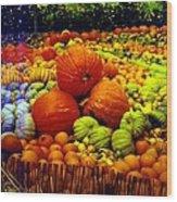 Pumpkin Love Wood Print