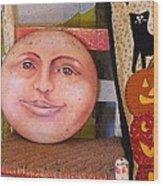 Pumpkin Patch 3 Wood Print