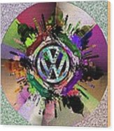 Punch Buggy Taj Wood Print