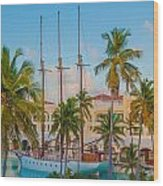 Punta Cana Resort Wood Print