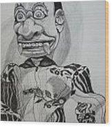 Puppet Wood Print