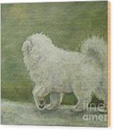 Puppy Struttin' Wood Print