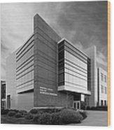 Purdue University Jischke Hall Of Biomedical Engineering Wood Print by University Icons