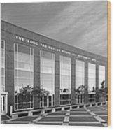 Purdue University Pao Hall  Wood Print by University Icons