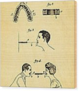 Purdy Excercising Device Patent Art 1923 Wood Print