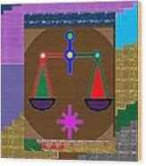 Pure Decoration Zodiac Symbol Art Wood Print