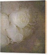 Pure Roses Wood Print