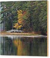 Purity Lake Wood Print