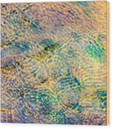 Purl Of A Brook 4 - Featured 3 Wood Print by Alexander Senin