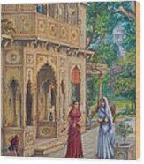 Purnamasi In House Of Kirtida Wood Print