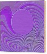 Purple Alchemy Wood Print