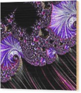 Purple Dream Wood Print