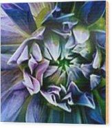 Purple Dream Wood Print