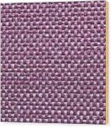 Purple Fabric Wood Print