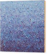 Purple Gradient Wood Print