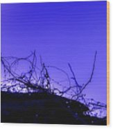 Purple Haze Wood Print