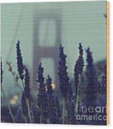 Purple Haze Daze Wood Print
