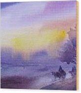 Purple Haze... Wood Print