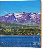 Purple Mountain Majesty Wood Print